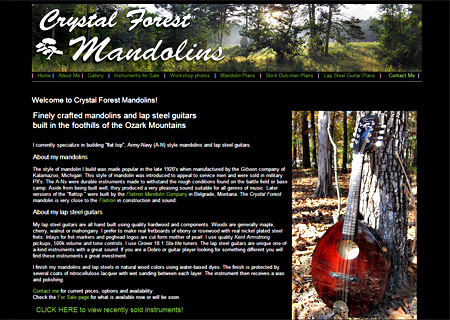 Crystal Forest Mandolins